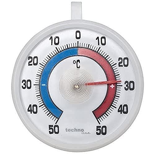 Technoline WA 1025 Universalthermometer, 7,1 x 4 x 8 cm, weiß