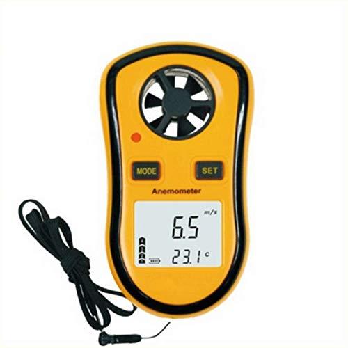 LHY Herramienta Anemómetro Digital GM 8908 Medición de la Velocidad de la Velocidad de Viento Medición de Temperatura fácil de Alta precisión Pequeño tamaño portátil medición