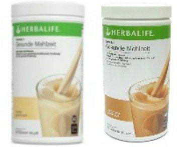 Herbalife 2 x Formula 1 saludable comida Vainilla & café latte, por 550 g
