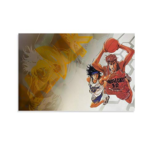 Sakuragi Hanamichi - Póster de anime japonés retro con texto en inglés 'Is from the Classic Retro Art para niños (50 x 75 cm)