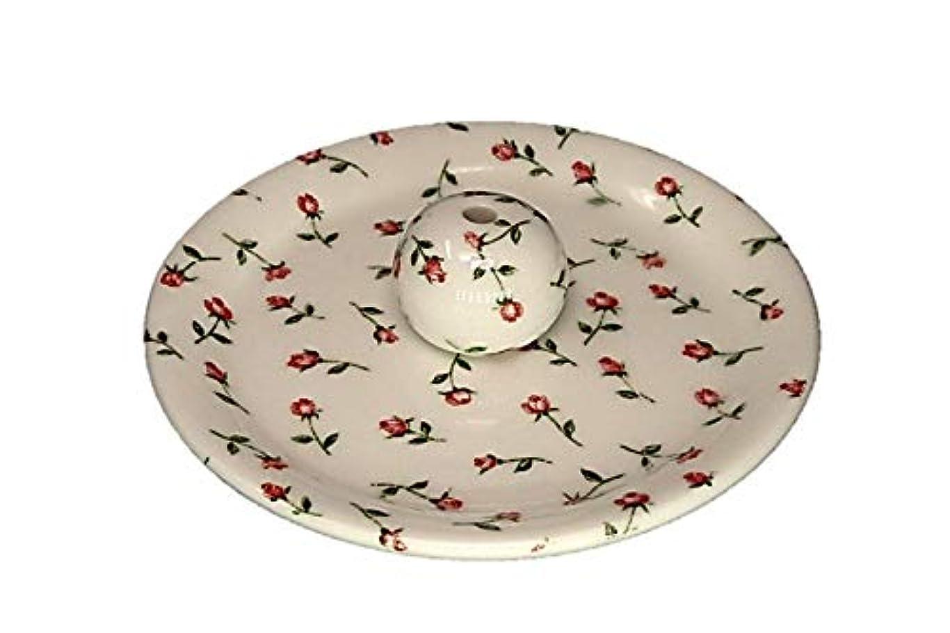 皮肉な牧草地こどもの宮殿9-14 ローズガーデン お香立て 9cm香皿 お香たて 陶器 製造 直売品