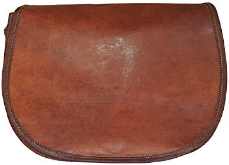 Maison De Cuir Handmade Cross Body Full Flap Leather Bag Hand Bag Gypsy Bag Shoulder Bag Brown color