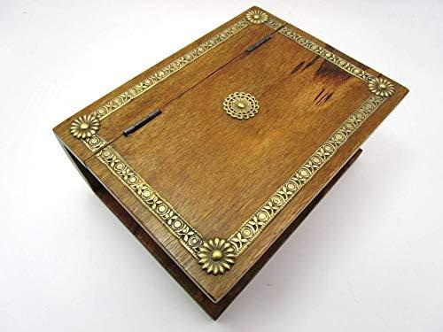 Geschenkhaus-Tom 50 Truhe Holztruhe Schatzkiste Schatztruhe Buch Holzbuch Schatzbuch (Buch)