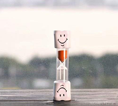Wadoy Kids Zahnbürste Timer ~ 2 Minuten Smiley Sand Timer zum Zähneputzen der Zähne