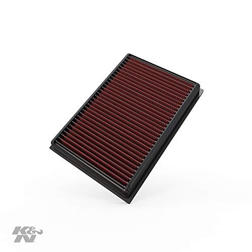 K&N 33-5007 Motorluftfilter: Hochleistung, Prämie, Abwaschbar, Ersatzfilter, Erhöhte Leistung, 2012-2019 (Trax, Encore, Mokka)