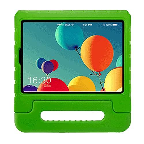 WEFH Funda Protectora con lengüeta para Tableta Eva portátil para niños para Samsung Galaxy 10.1', Verde
