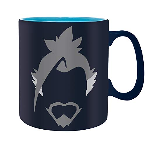 ABYstyle - Overwatch - Taza - 460 ml - Hanzo