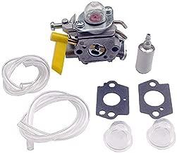 KIPA Carburetor kit for 25cc 26cc 30cc Homelite Ryobi Craftsman Poulan Brushcutter Blower String Trimmer # 308054013 308054012 308054004 308054008 Replace ZAMA C1U-H60 Carb