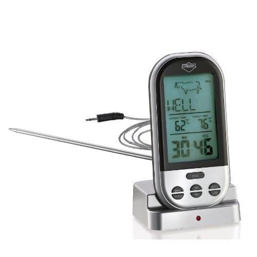 Küchenprofi Profi 10 6568 00 00 Termometro Digitale da frittura con Radio