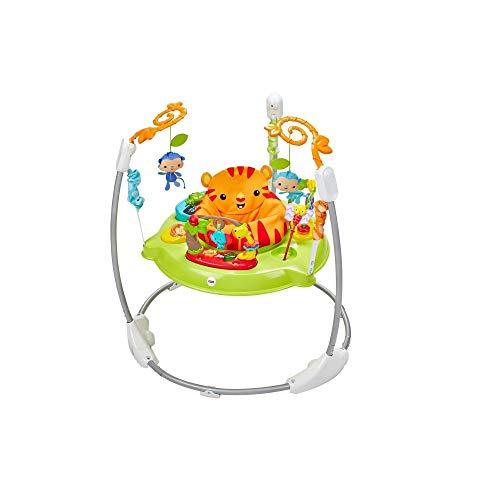 Fisher-Price Silla Saltarina Maravillas Naturaleza Juguete para bebés en etapa de desarroll