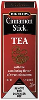 Bigelow Cinnamon Stick Black Tea, 28/Box 10343 by Bigelow Tea