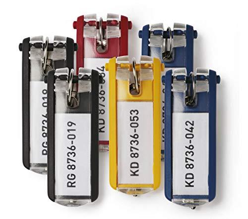 DURABLE Key Box with Key Lock, Holds 36 Key Tags, 11-3/4 x 4-5/8 x 11 Inches, Brushed Aluminum (195223 ) Photo #4