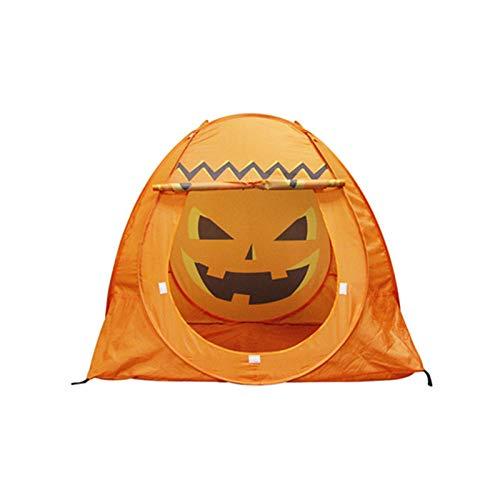 YUANYI Play Tent Teepee Tent Kids Halloween Pumpkin Indoor Outdoor Children Haunted House Halloween Ghost Festival Prop Children's Party Decoration