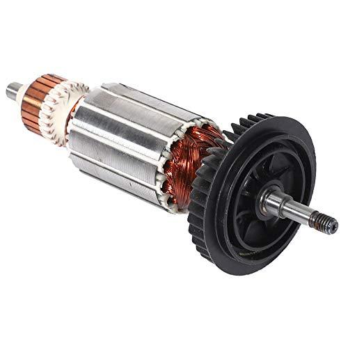Ctzrzyt Repuesto de Rotor de Armadura AC 220V / 240V para GWS6 GWS 6 GWS 6-100 GWS6-100 GWS 6-115 Piezas de Repuesto de Amoladora Angular
