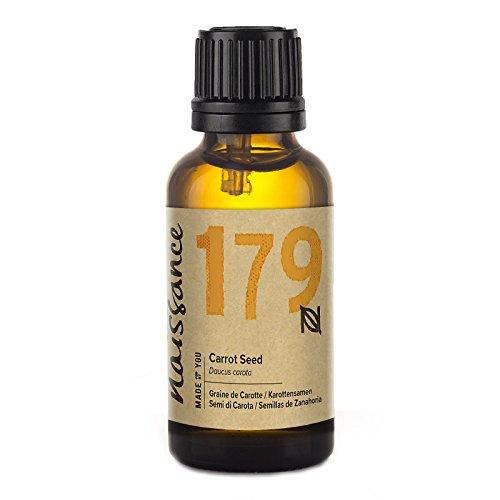 Naissance Aceite Esencial de Semillas de Zanahoria 30ml - 100% puro, vegano y no OGM