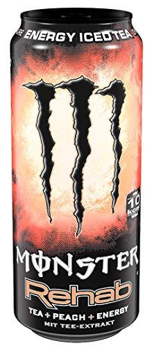 Monster Energy Flavour Rehab Peach EINWEG, (1 x 0,5 l)