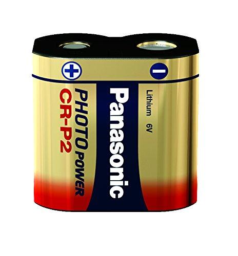 Panasonic CRP2 Foto Batterie Lithium, 1600 mAh,6V
