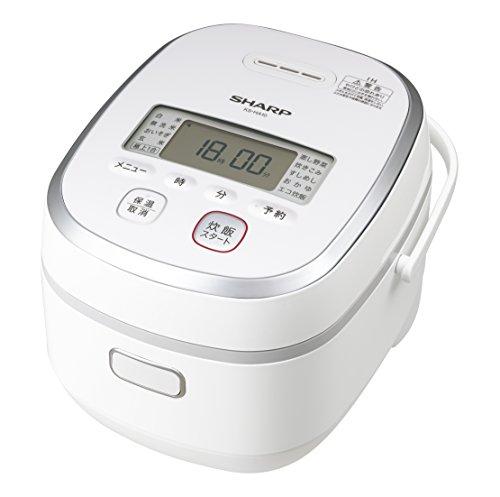 シャープ IHジャー炊飯器 (最大5.5合) KS-HA10-W