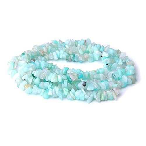 KEJI 5-8Mm Natural Stone Irregular Shape Random Chip Beads Pink Quartz Amethysts Lapis Lazuli Turquoises For Jewelry Making Bracelet