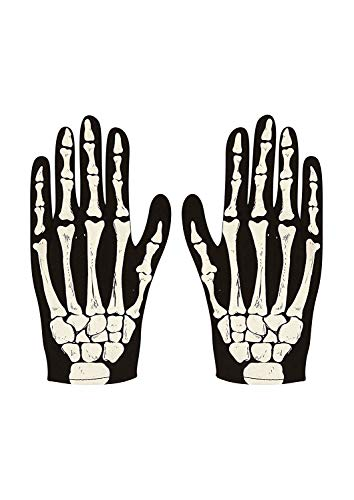 GLOVES SKELETON ADULT