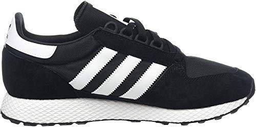 adidas Herren Forest Grove Fitnessschuhe, Schwarz (Negbás/Ftwbla/Negbás 000), 45 1/3 EU