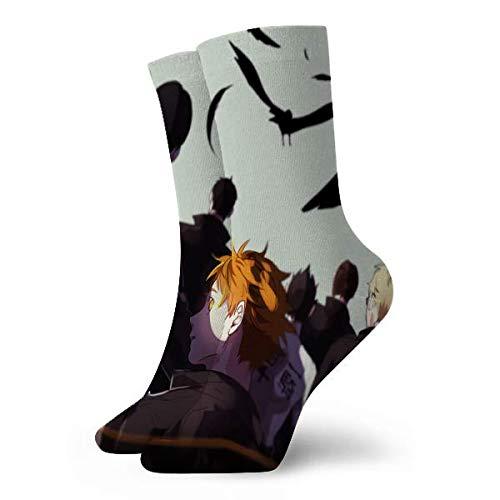 LCYYDECO Haikyu school Calcetines Ocio Sport Calcetines cortos 30cm