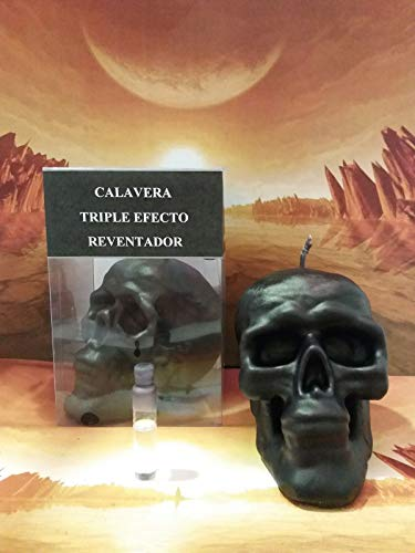 LCL velas Ritual Calavera Negra