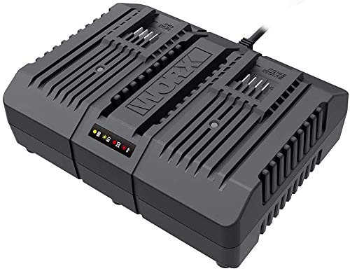 WORX WA3883 20V Dual Port Fast Battery Charger