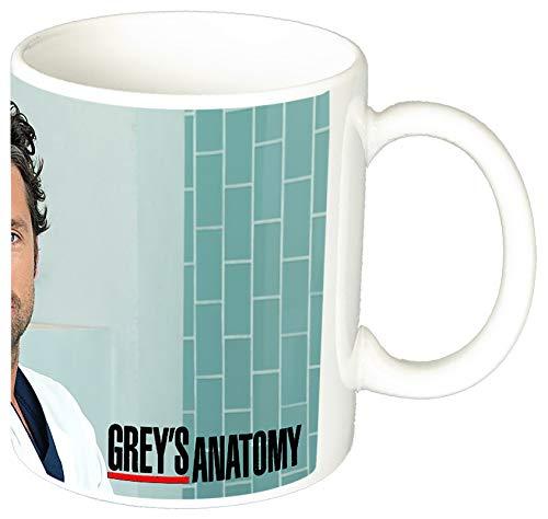 MasTazas Anatomia De Grey Grey'S Anatomy Patrick Dempsey Taza Ceramica