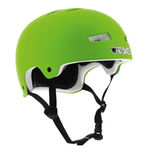 TSG Helm Evolution Solid Colors, flat-green, 57-59 cm (L/XL), 750461-55-126
