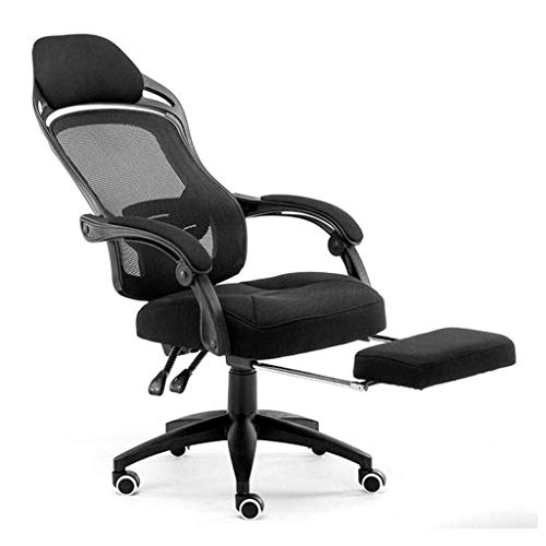 BGYPA AMIHKGHNB Office Chair- Ergonomic Office Recliner Chair High Back Desk Chair Racing Style with Lumbar Support Height Adjustable Seat, Headrest