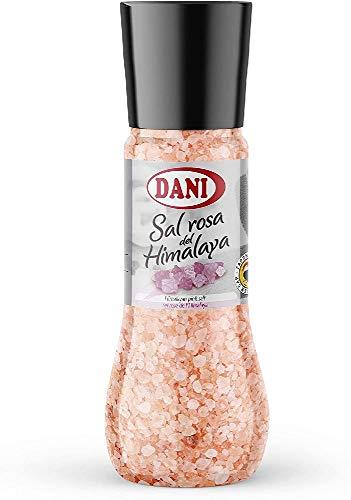 Dani - Sal Rosa del Himalaya con Molinillo - Tamaño Familiar 430 gr.