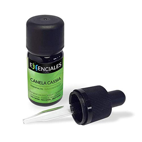 Essenciales - Huile essentielle de Cannelle de chine (Cinnamomum cassia loureirii), 30 ml   100% Pure et Naturel
