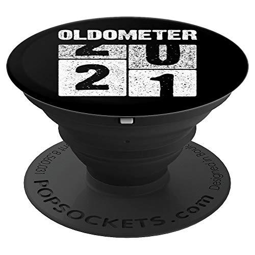 Oldometer 21 Años Regalo Cumpleaños Nacido en 1999 PopSockets Agarre y Soporte para Teléfonos y Tabletas