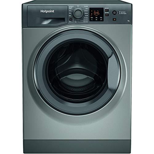 Hotpoint NSWM742UGGUKN 7kg 1400rpm Freestanding Washing Machine - Graphite