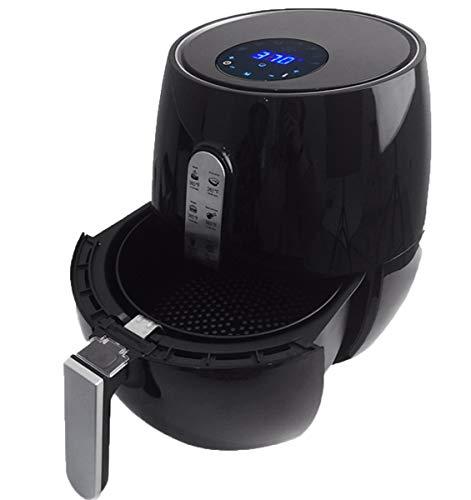 NANXCYR Air Fryer Health Fryer, olie en bakken met laag vetgehalte, 1350 W, 3,6 l, zwart