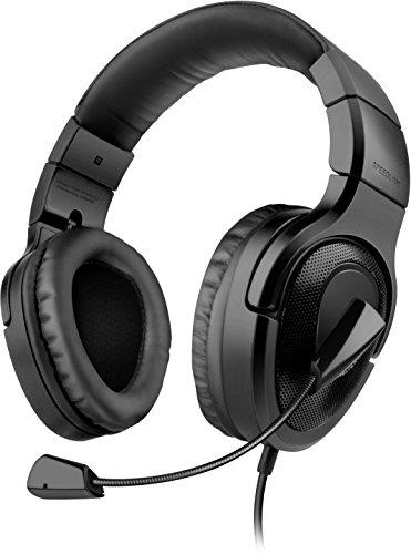 Speedlink MEDUSA XE 5.1 True Surround Headset (USB, Kopfhörer mit Mikrofon,Kabelfernbedienung, echter 5.1 Surround-Sound, faltbar) schwarz