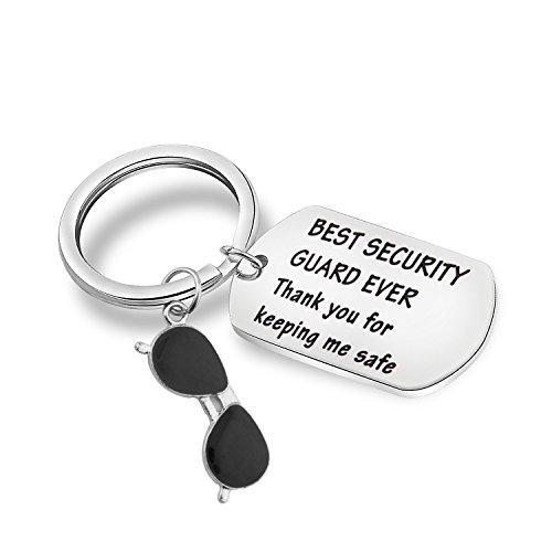 MAOFAED Guardia de Seguridad Regalo Gracias por Mantener mi Seguridad Guardia de Seguridad apreciación Regalo de Agradecimiento