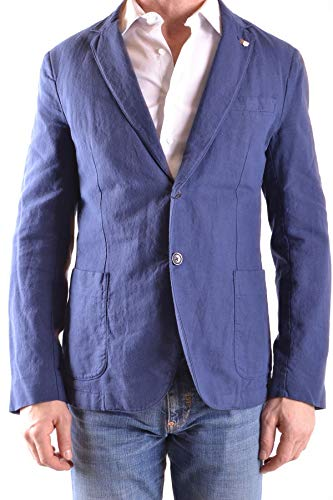 GANT Luxury Fashion Herren MCBI27475 Blau Leinen Blazer | Jahreszeit Outlet