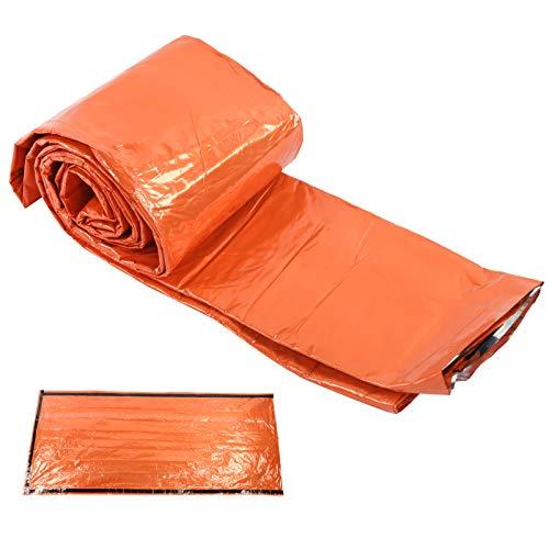 Sovpåse Utanvändningsbar nödsovsäck Thermal Survival Camping Travel Orange