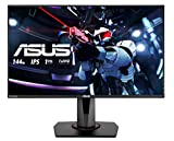 ASUS VG279Q, 27 Inch FHD (1920 x 1080) Gaming monitor, IPS, Up to 144Hz, 1 ms MPRT, DP, HDMI, DVI, FreeSync, Low Blue Light, Flicker Free, TUV Certified