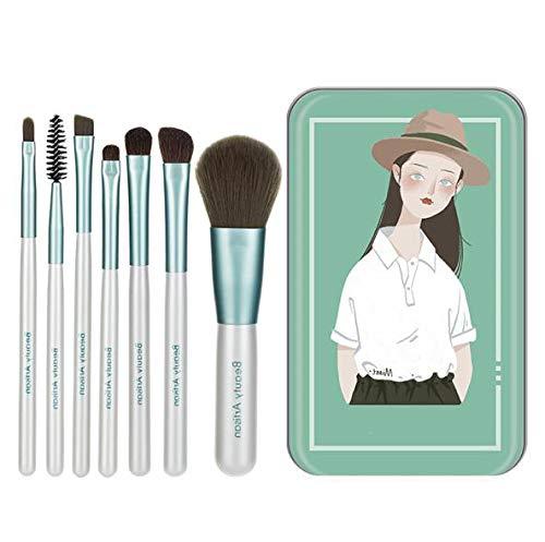 XINYIZI Make-upkwastenset, 7 stuks, afbeelding, professionele inkt, make-upkwast, oogschaduw, eyeliner, cadeau voor dames