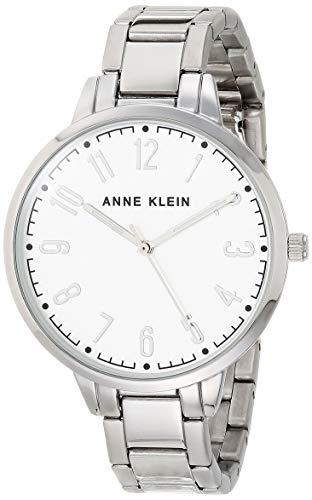 Anne Klein Reloj de pulsera de esfera fácil de leer para mujer