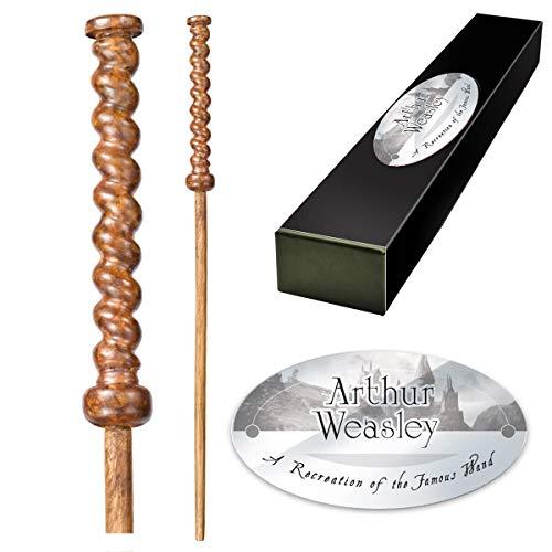 La noble colección Arthur Weasley Varita de personaje