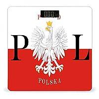 ポーランド国旗ポーランドポルスカ LCDディスプレイ付き高精度スマートフィットネススケール体重デジタルバスルームボディスケール