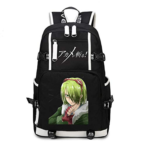 YOYOSHome Anime Akame ga Kill! Mochila Cosplay Bookbag Daypack Laptop Bag Bolsa escolar
