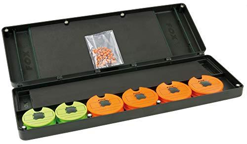 Fox F box large disc & rig box system - Tacklebox für Montagen & Rigs zum Karpfenangeln, Angelbox für Karpfenmontagen, Rigbox