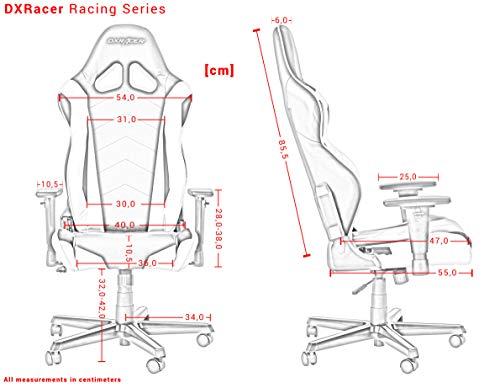 DXRacer Racing Series R0-N Gaming Stuhl Bild 5*