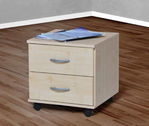 Möbeldesign Team 2000 Rollcontainer Bürocontainer Schubcontainer Nachtschrank ahorn -4