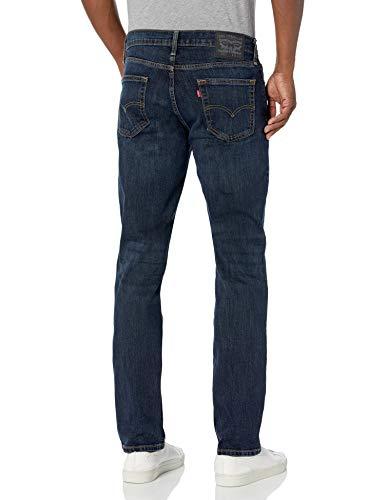 Levi's Men's 511 Slim Fit Jean, Sequoia – Stretch, 32W x 36L